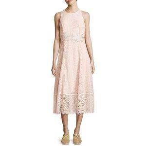 Karl Lagerfeld Vogue 125 Paris Lace Midi Dress NWT